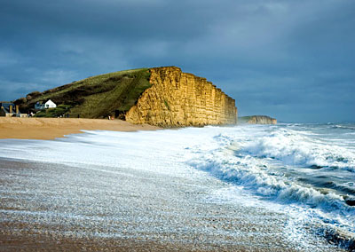 West Dorset beach