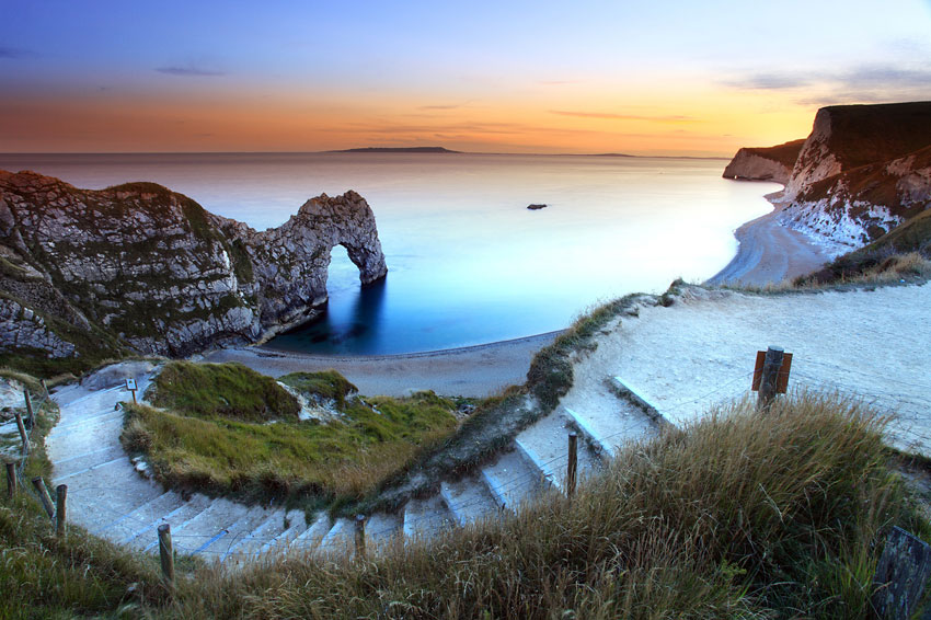 Durdle Door Beach & Durdle Door Beach - Jurassic Coast Dorset Beaches